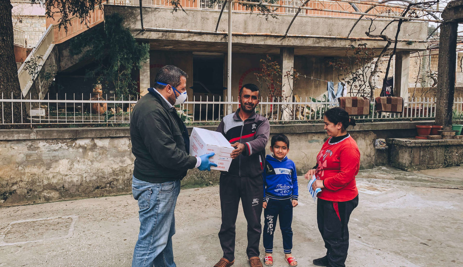 Help The Persecuted's Field Team in Lebanon delivers critical care supplies